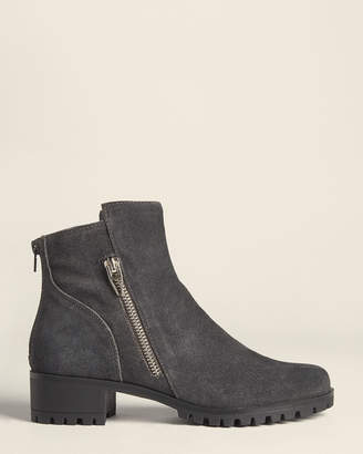 Dolce Vita Anthracite Parley Suede Ankle Booties
