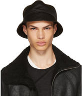 Rick Owens Black Gilligan Bucket Hat