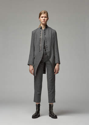 Yohji Yamamoto Y's By Stand Collar Military Jacket