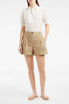 Paul & Joe Lace Detail Short-Sleeved Shirt