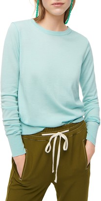 J.Crew Margot Crewneck Re-Imagined Wool Sweater