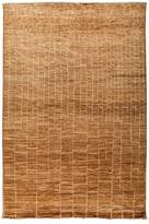 Solo Rugs Moroccan Area Rug - Brown Variegated Brick, 6' x 8'10""