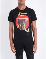 Philipp Plein Skull-print Cotton-jersey T-shirt