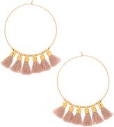 Mimi & Lu Sonia Tassel Earrings