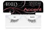 Andrea Ardell Lash Accents Pair Style 301, Black (Pack of 4)