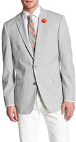 Tommy Hilfiger Ethan Grey Plaid Woven Two Button Notch Lapel Sport Coat