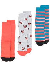 Diesel Skm-Ray 3 pack socks - men - Cotton/Nylon/Spandex/Elastane - S