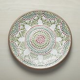 Crate & Barrel Caprice Holiday Melamine Platter