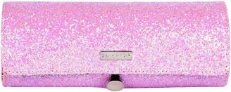 Skinnydip Pink Glitsy Brush Roll