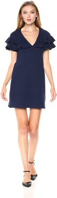 Only Hearts Women's French Terry Ruffle Dress