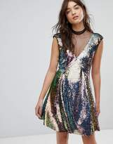 Free People Dance Til Dawn Sequin Dress