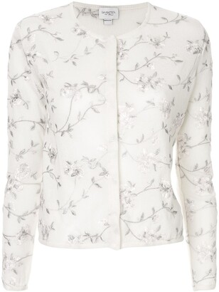 Giambattista Valli embroidered floral cardigan