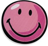 Fun Rugs Fun RugsTM Smiley 3-Foot 3-Inch Round Rug in Pink