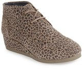 Toms Girl's 'Desert - Youth' Wedge Bootie