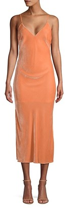 le superbe Noman Velvet Slip Dress