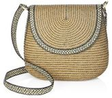 Eric Javits Squishee Demi Woven Crossbody Pouch