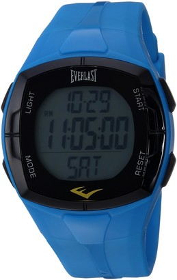 Everlast Chinese-Automatic Fitness Watch with Rubber Strap