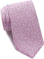 Ben Sherman Park Floral Silk Tie
