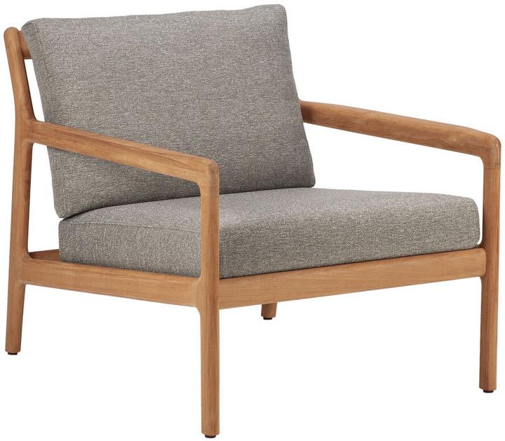 Ethnicraft Jack Outdoor Sofa Seater - Teak/Mocha - One Seater