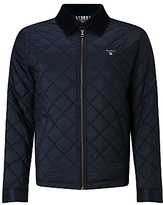 Gant Quilted Windcheater Jacket, Navy