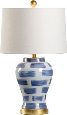 "Chelsea House Brick 25"" Table Lamp"