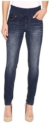 Jag Jeans Nora Pull-On Frontline Denim Skinny in Flatiron (Flatiron) Women's Jeans