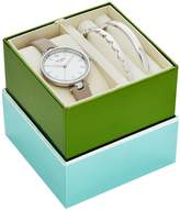 Kate Spade Holland Analog Leather-Strap Watch & Bracelet Set
