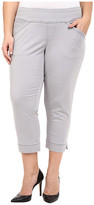 Jag Jeans Plus Size Marion Crop in Bay Twill