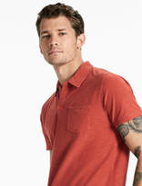 Lucky Brand Short Sleeve Johnny Collar Polo