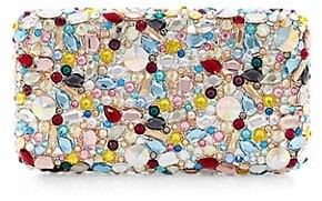 Judith Leiber Eclipse Rectangle Crystal Clutch