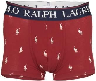 Polo Ralph Lauren logo printed boxers
