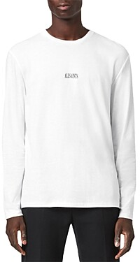 AllSaints State Cotton Long Sleeve Tee