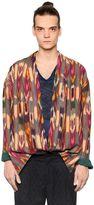 Etro Psychedelic Woven Linen Kimono Jacket