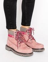 CAT Footwear Cat Colorado Lace Up Flat Boot