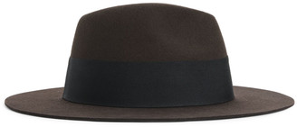 Arket Felted Wool Fedora Hat
