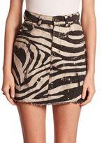 Marc Jacobs Zebra Mini Skirt