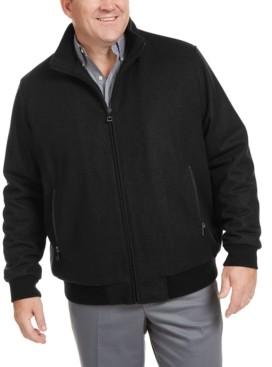 Calvin Klein Men's Big & Tall Bomber Jacket