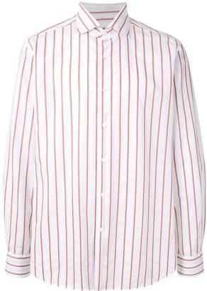 Corneliani Double-Sided Striped shirt
