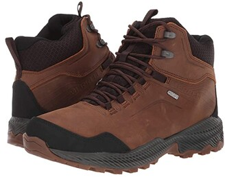 Merrell Forestbound Mid Waterproof Tan) Men's Shoes