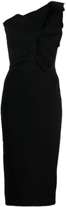 Roland Mouret Raven one-shoulder dress