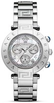 Versace Reve Chronograph Stainless Steel Watch, 40mm