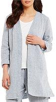 Eileen Fisher Bracelet Sleeve Long Jacket