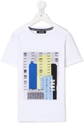 DKNY Graphic Print T-Shirt