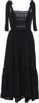 Ulla Johnson Violet Bow Shoulder Dress