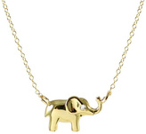 Kris Nations Elephant Charm Necklace