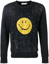 Coach embellished sweatshirt - men - Cotton/Polyester - S