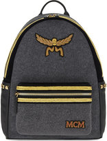 Mcm Stark Loden Medium Backpack