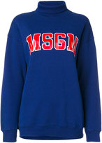 MSGM logo sweater - women - Cotton - XS