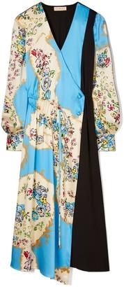 Tory Burch Printed Drawstring Dress