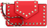 Valentino Rockstud Leather Flap Phone Case
